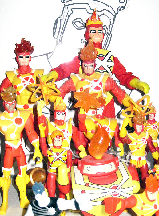 Firestorm Mego Custom Figure by Ben Plavin