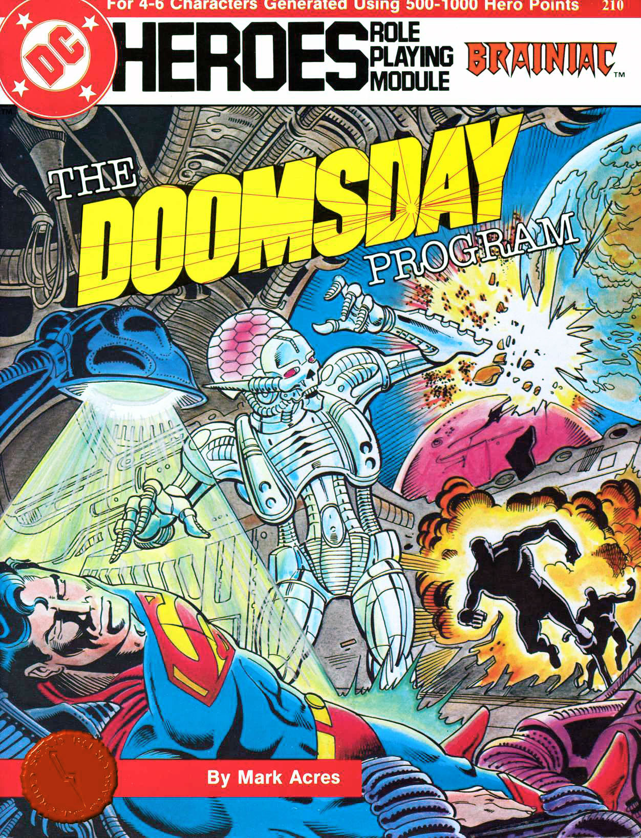 Mayfair Games DC Heroes RPG The Doomsday Program