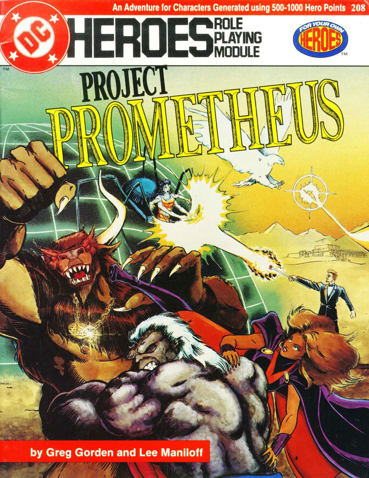 Mayfair Games DC Heroes RPG Project Prometheus