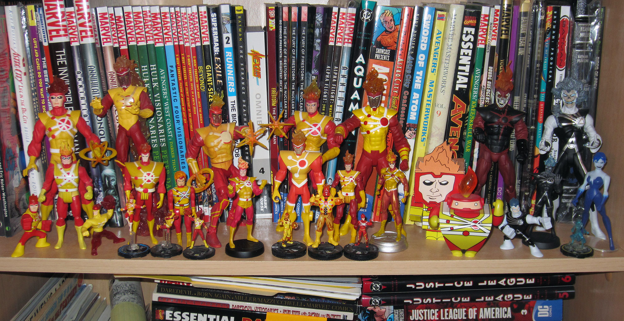 DC Comics Firestorm action figures - May 2014