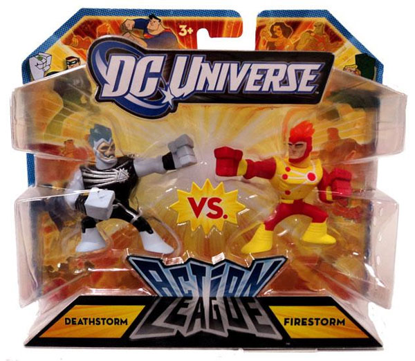 Deathstorm vs Firestorm Action League