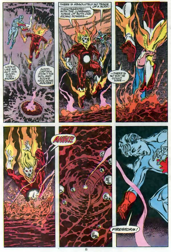Action Comics #666 starring Superman featuring Firestorm and Captain Atom