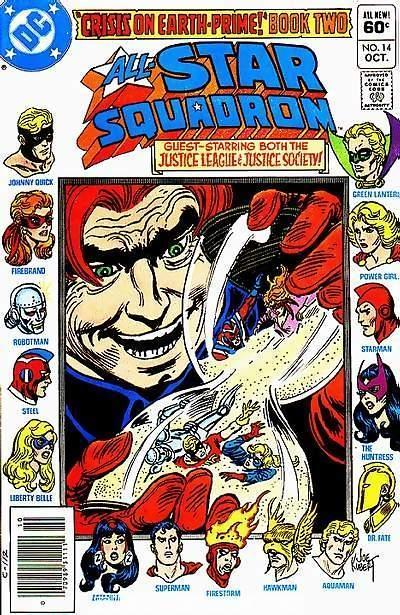 All-Star Squadron #14 cover by Joe Kubert