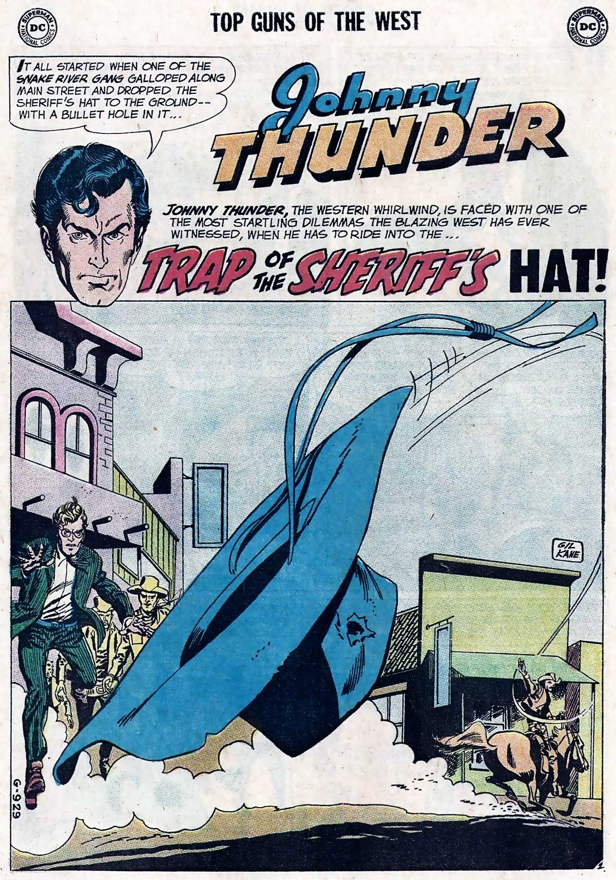 All-Star Western #99 featuring Johnny Thunder by Bob Haney and Gil Kane