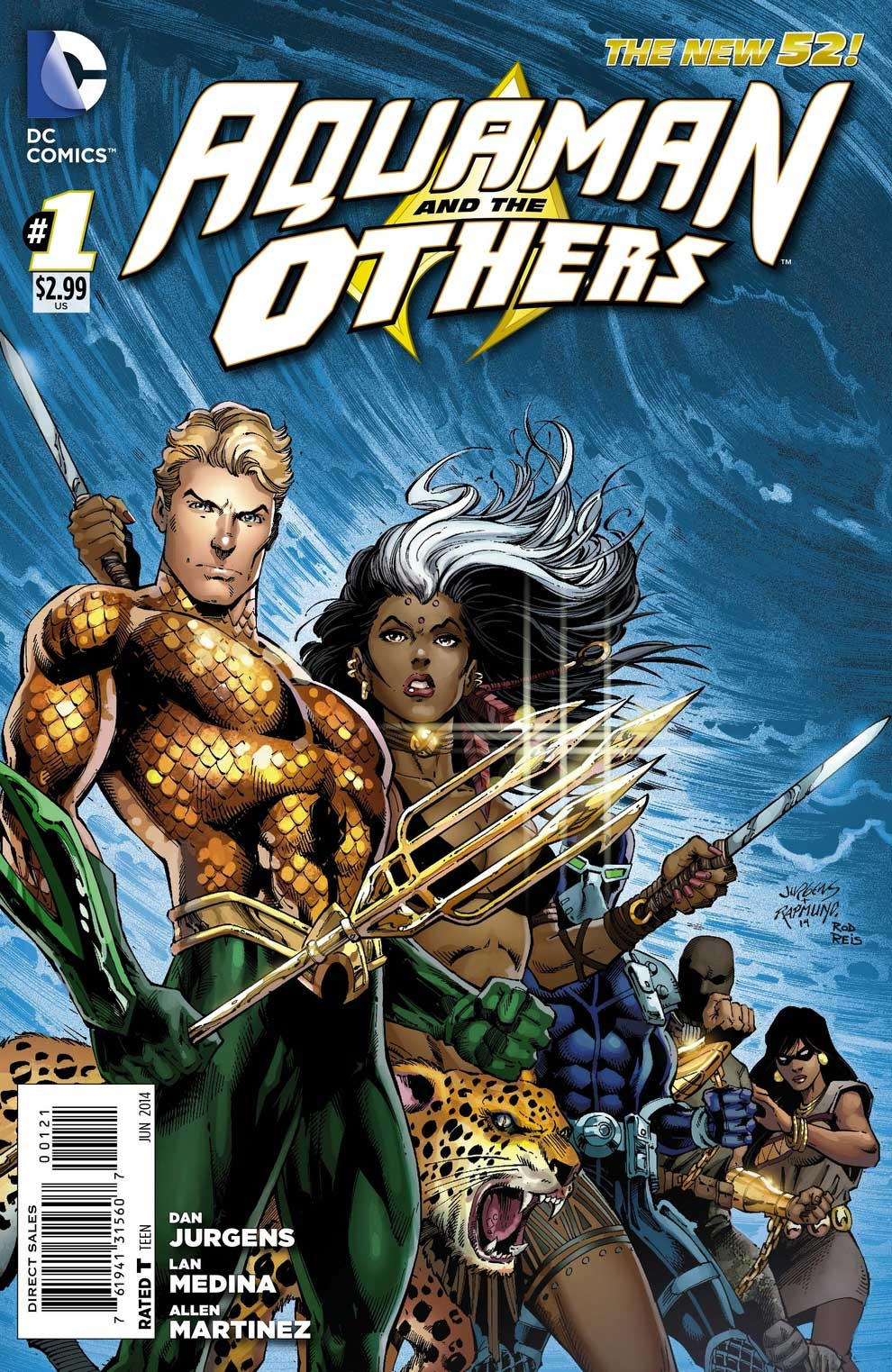Aquaman & The Others #1 variant cover by Dan Jurgens