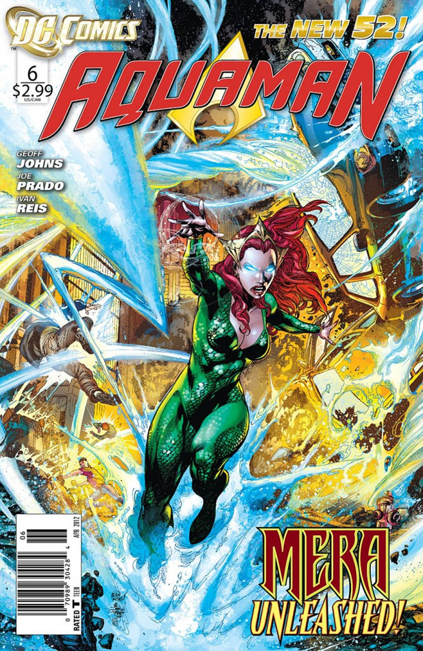Aquaman #6 cover by Ivan Reis and Joe Prado