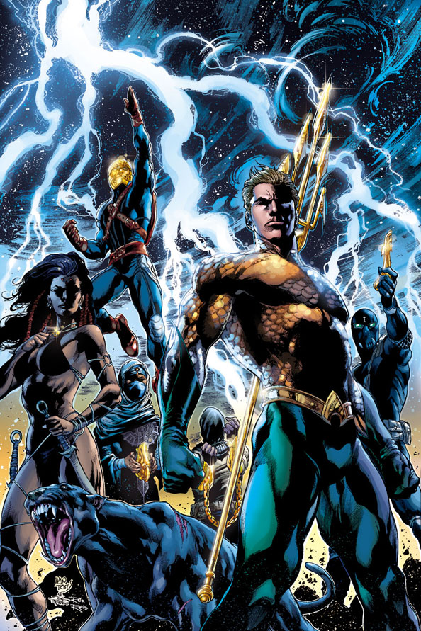 Aquaman #7 by Geoff Johns, Ivan Reis, Joe Prado, and Rod Reis