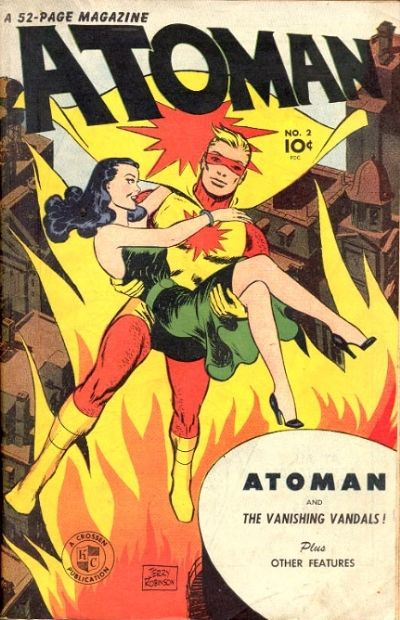 Atoman #2 from Sparks Publications