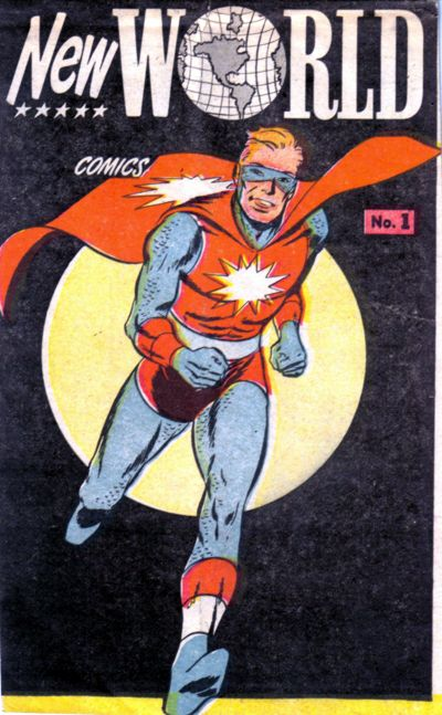 Atomaster from New World Comics