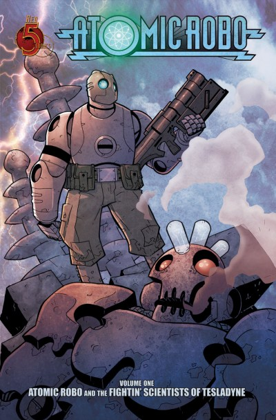 Atomic Robo by Brian Clevinger and Scott Wegener