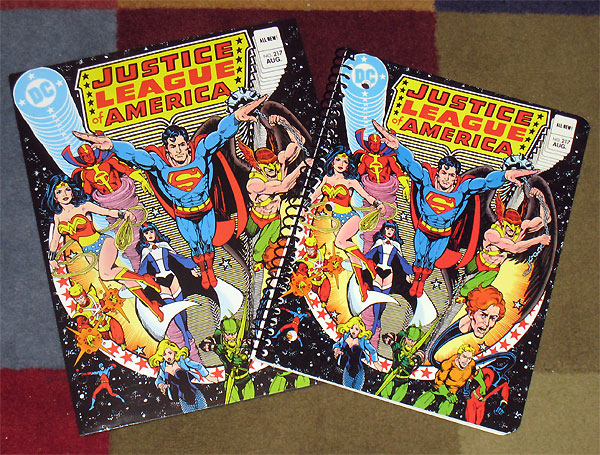 Back to School Firestorm merchandise - Justice League of America #217 by George Perez