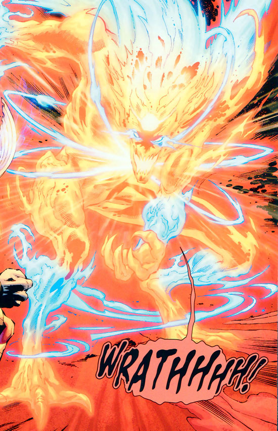 Wrath - Firestorm word balloon