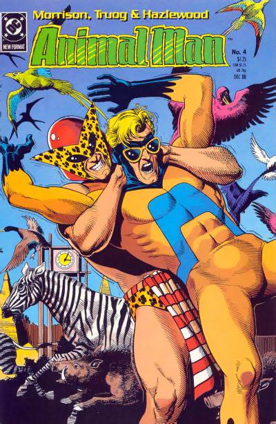 B'wana Beast in Animal Man #4