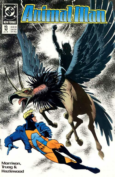 Animal Man #13 featuring B'wana Beast and Freedom Beast