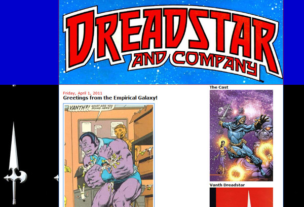 Power of the Atom blog became Dreadstar and Company