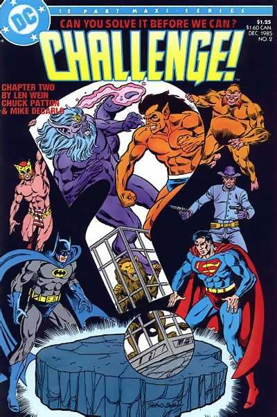 DC Challenge #2 featuring B'wana Beast