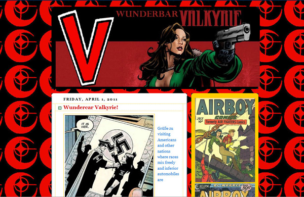 Diana Prince as the New Wonder Woman blog became Wunderbar Valkyrie