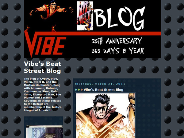 JJustice Leage Detroit blog became Vibe's Beat Street Blog