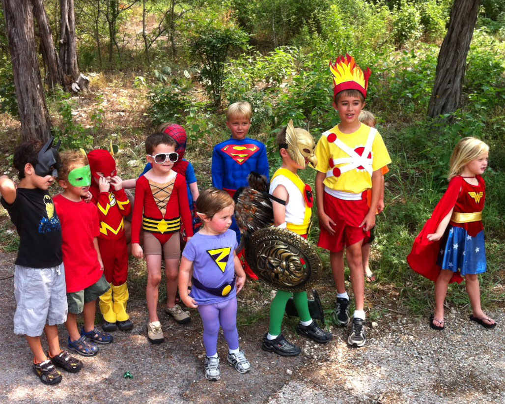Superhero Birthday Party with Firestorm, Superman, Spider-Man, Batman and more