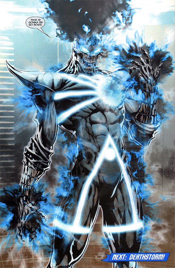Brightest Day #10 - Black Lantern Firestorm