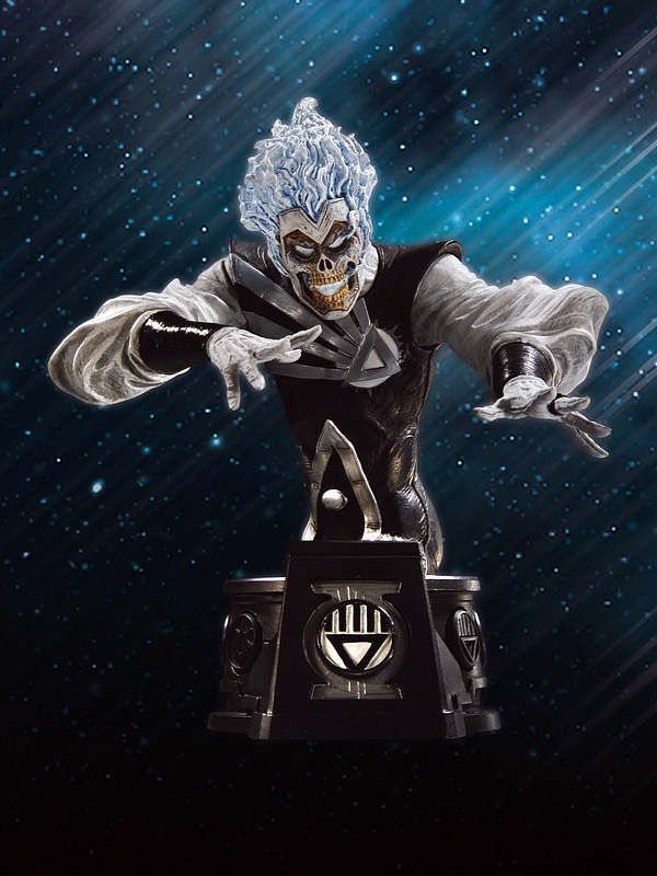 Blackest Night Black Lantern Firestorm mini-bust