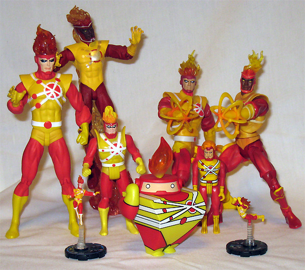 Firestorm Action Figures