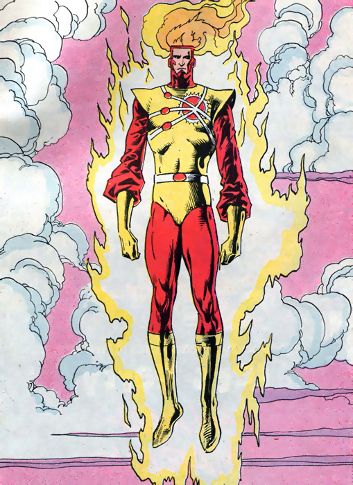 Blank Slate Firestorm from Firestorm the Nuclear Man Annual #5