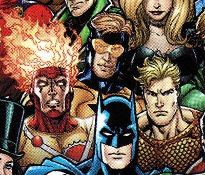 Firestorm, Booster Gold, Aquaman