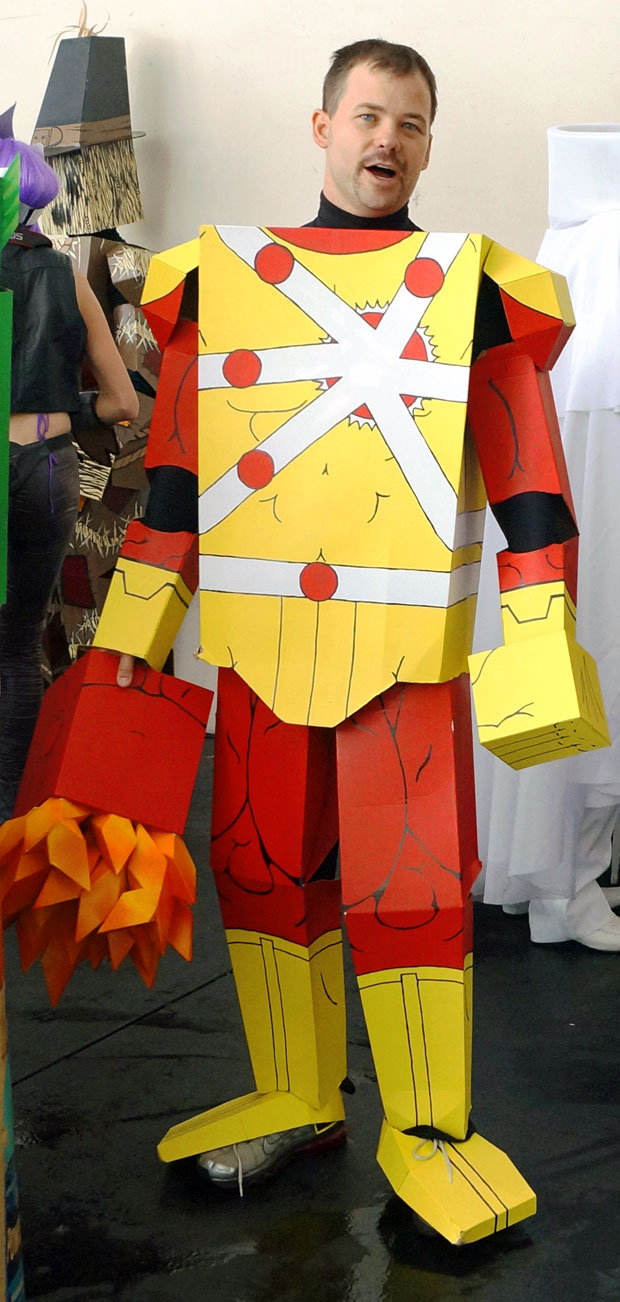 Firestorm Box Hero Cosplay at DragonCon 2012