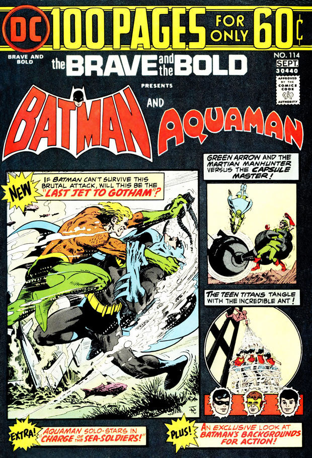 Brave and the Bold #114 with Batman and Aquaman by Bob Haney and Jim Aparo