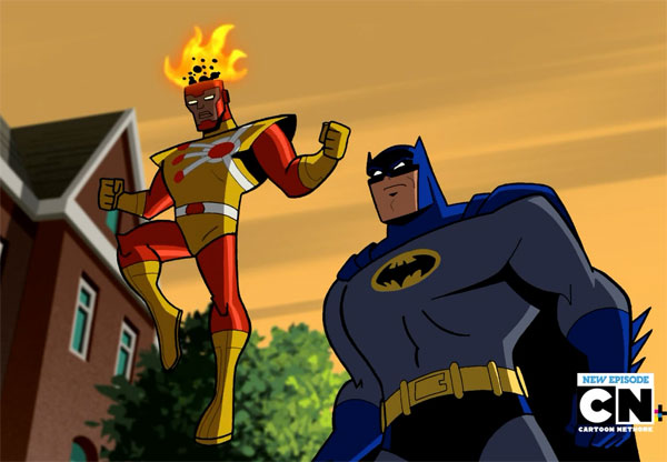 Firestorm on Batman: The Brave and the Bold - Darkseid Descending