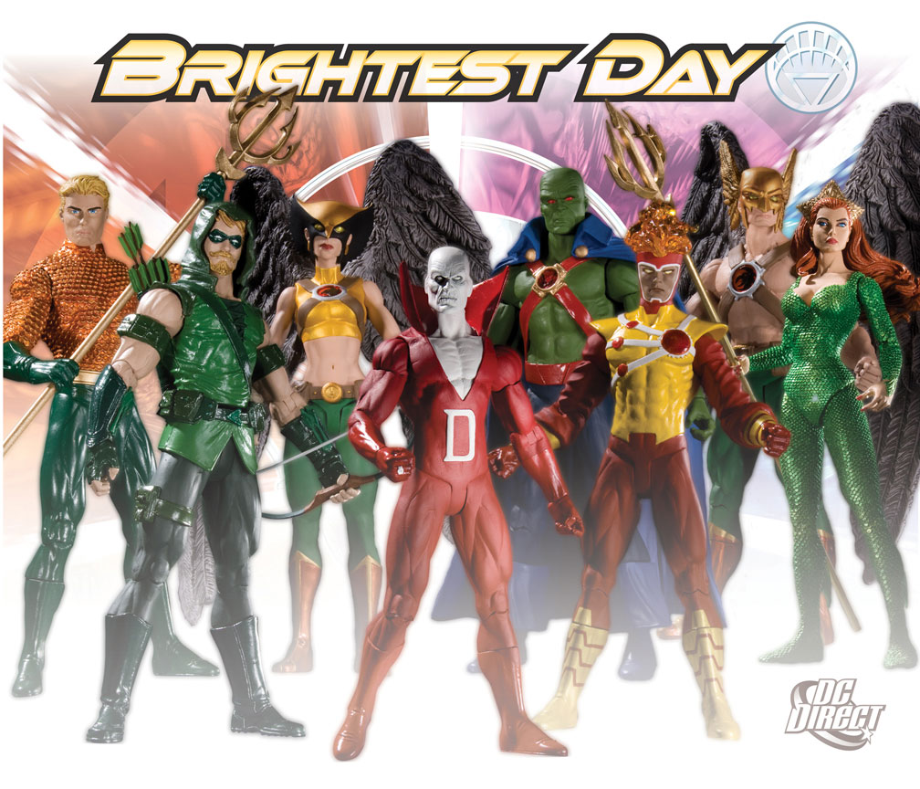 Brightest Day DC Direct Action Figures