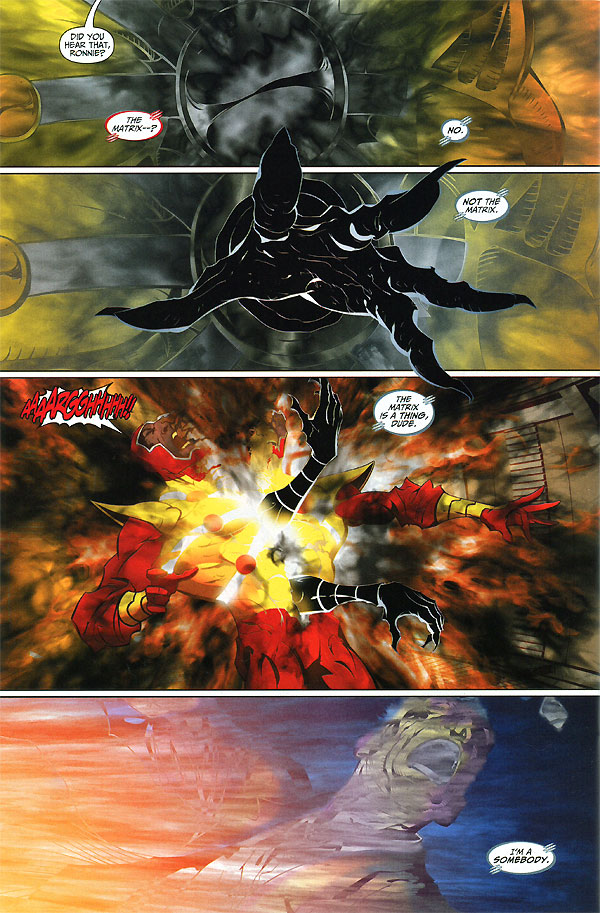 Brightest Day #10 Black Lantern Firestorm