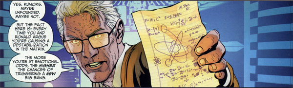 Professor Martin Stein from Brightest Day #10 by Scott Clark and Dave Beaty