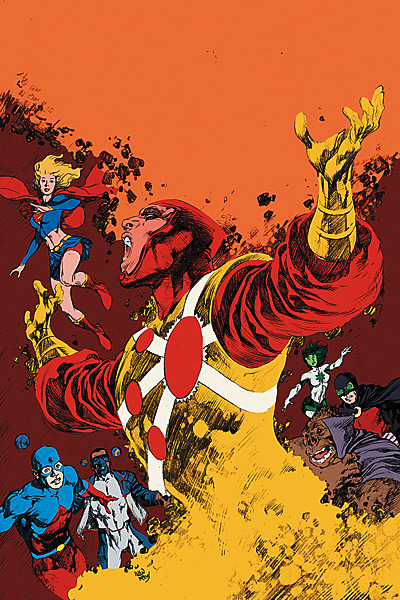 Brightest Day #16 cover featuring Firestorm
