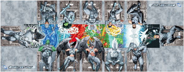 Brightest Day White Lantern variant covers