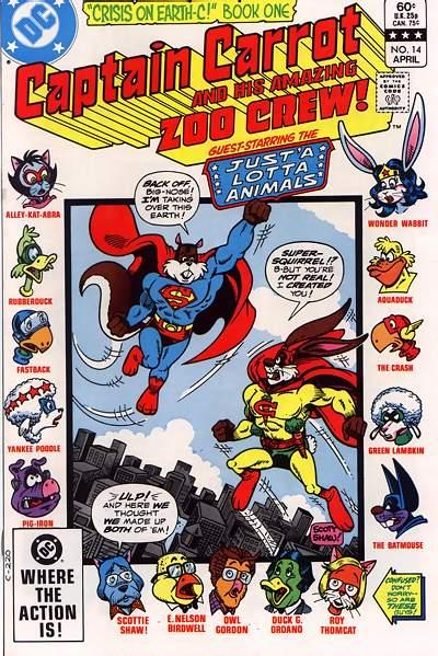 Captain Carrot and His Amazing Zoo Crew #14