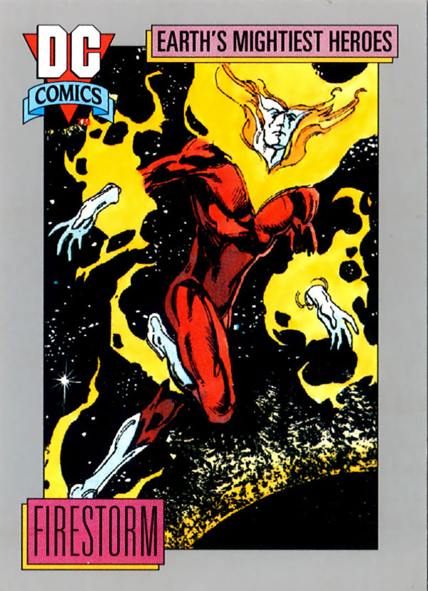 Firestorm trading card - Impel DC Comics 1992 #50