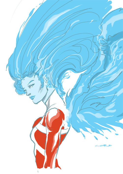 Yildiray Cinar draws Firehawk