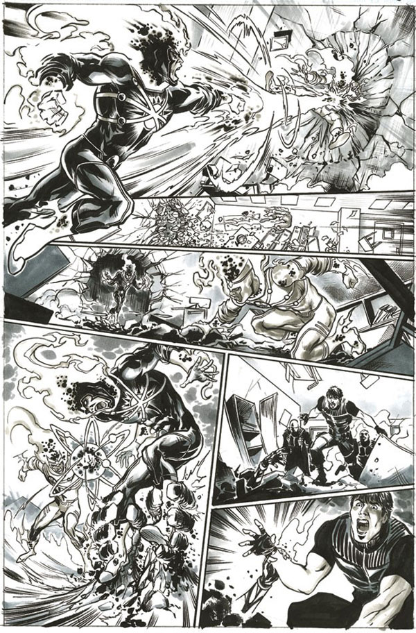 Yildiray Cinar page 17 from FURY OF FIRESTORM #1