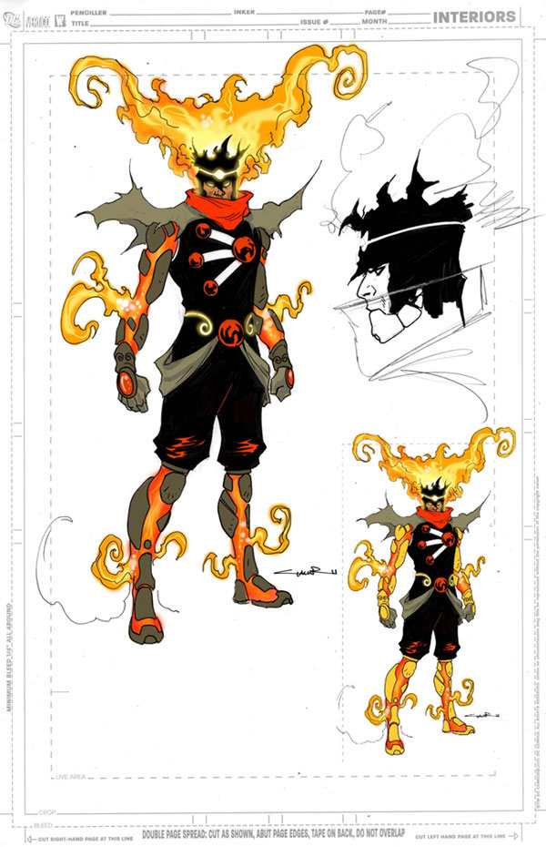 Yildiray Cinar design for the rogue Firestorm protocols