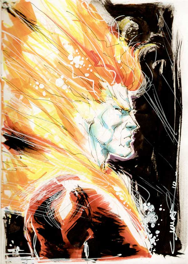 Firestorm by Yildiray Cinar