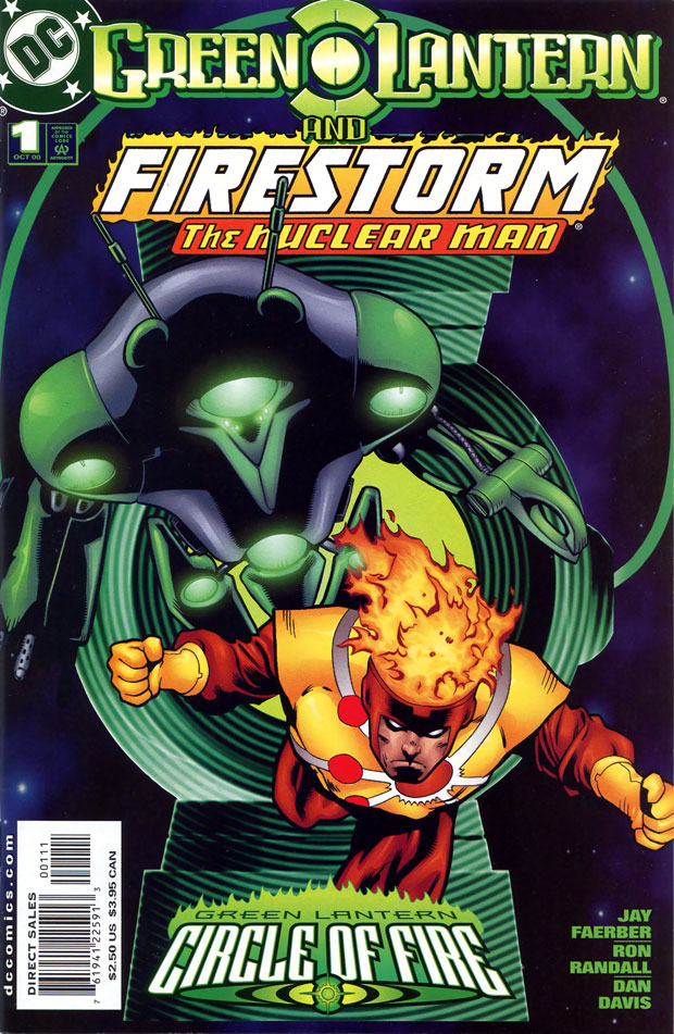 Firestorm in Green Lantern: Circle of Fire, cover by Cary Nord