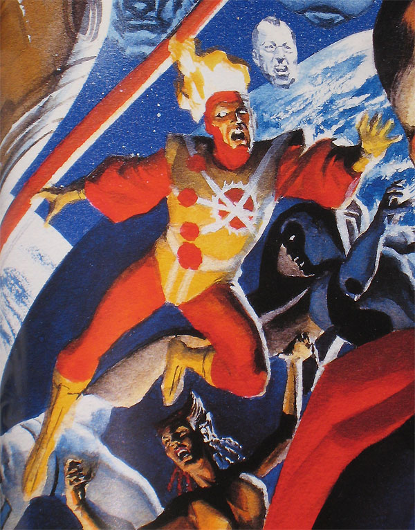 Firestorm by George Perez and Alex Ross from Crisis on Infinite Earths