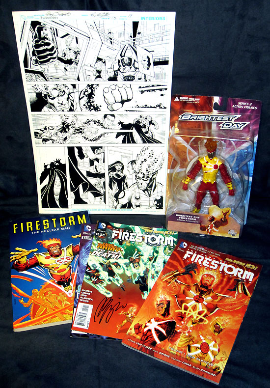 Firestorm Fan Contest Prizes