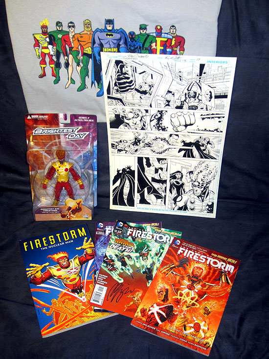 Prizes from What Do You Like About Firestorm contest
