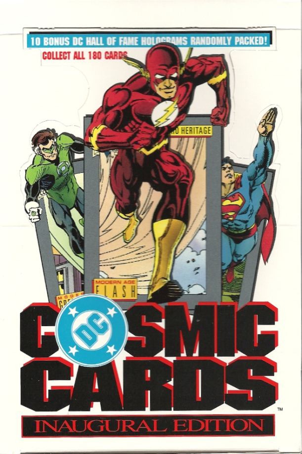 DC Cosmic Cards trading card box