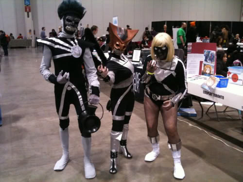 Black Lantern Firestorm at Toronto Comic Con 2011