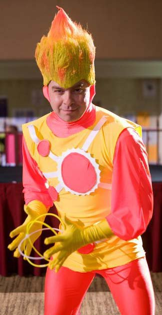 Mr. Jamester as Firestorm