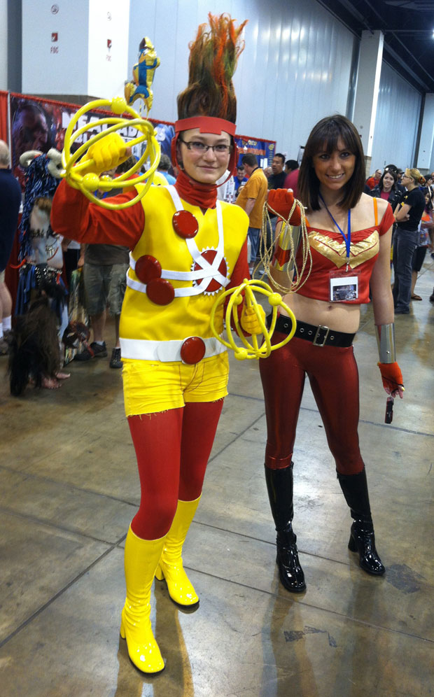 Lady Firestorm cosplay from the Denver Comic Con found via Paul Horn's Flickr page